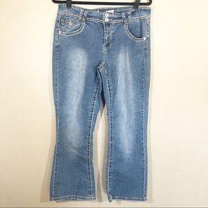 Fashion bug bootcut jeans 16w petite